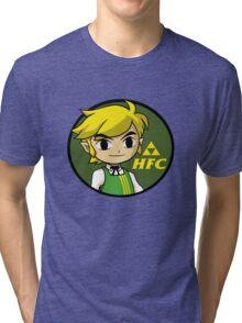 Hyrule Fried Cuccos Tri-blend T-Shirt