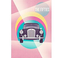 The Fifties Photographic Print