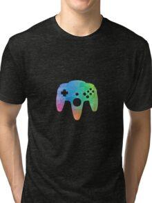 N64 Paint Pad Tee Tri-blend T-Shirt