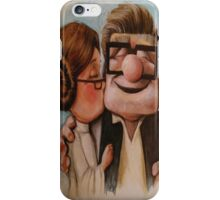 Carl and ellie forever iPhone Case/Skin
