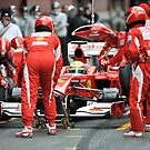 Fernando Alonso 2010 by SHUTTERBLADE