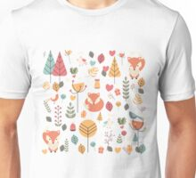 Baby fox pattern 05 Unisex T-Shirt