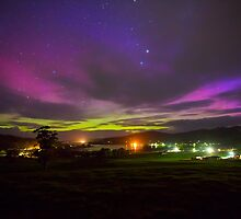 Aurora Australis from Cygnet, Tasmania #3 by Chris Cobern