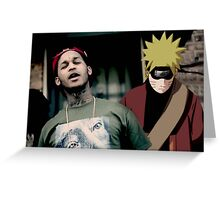 Naruto Santana Greeting Card