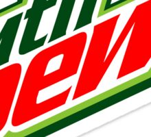 Mountain Dew T-shirt Sticker