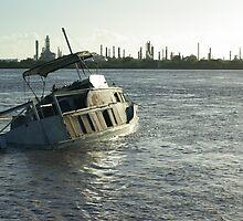 Half sunk by James Milton