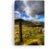 Mount Snowdon  Canvas Print