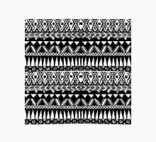 Black and White Hand Drawn Modern Tribal Aztec Classic T-Shirt