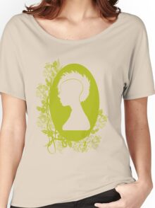 Vintage Punk Cameo Yellow Women's Relaxed Fit T-Shirt