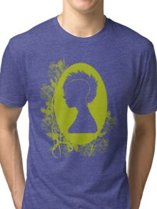 Vintage Punk Cameo Yellow Tri-blend T-Shirt