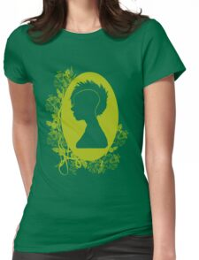 Vintage Punk Cameo Yellow Womens Fitted T-Shirt