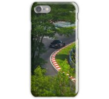 Porsche through the trees iPhone Case/Skin