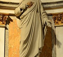Statue of our Lord Jesus Christ by Jacqueline van Zetten