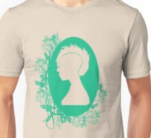 Vintage Punk Cameo Turquoise T-Shirt