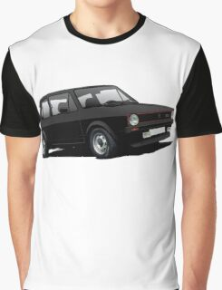 VW Golf GTI MK1 illustration black Graphic T-Shirt