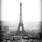 Towering Eiffel Tower by FakeFate