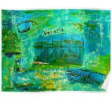 Venezia - Collage Poster