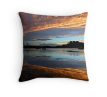 Through the clouds Throw Pillow