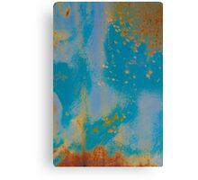 Gold Dust Sprinkles the Sky Canvas Print