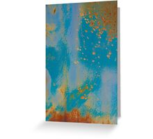 Gold Dust Sprinkles the Sky Greeting Card