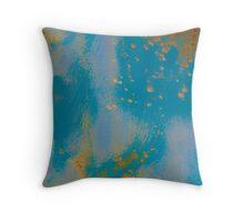 Gold Dust Sprinkles the Sky Throw Pillow