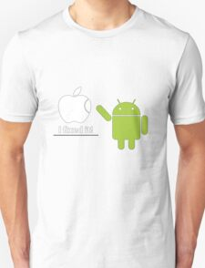 I fixed it! - Andoid Unisex T-Shirt