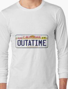 BTTF OUTATIME Long Sleeve T-Shirt