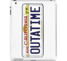 BTTF OUTATIME iPad Case/Skin
