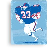 American Footballer Canvas Print