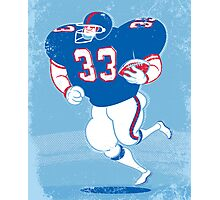 American Footballer Photographic Print