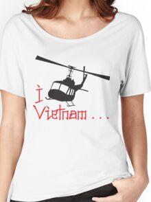 I LOVE VIETNAM T-shirt Women's Relaxed Fit T-Shirt