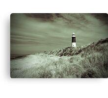 Lighthouse at Spurn Head Canvas Print