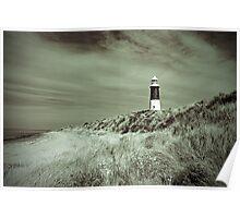 Lighthouse at Spurn Head Poster