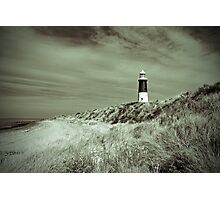 Lighthouse at Spurn Head Photographic Print