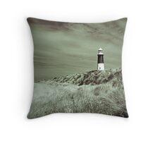 Lighthouse at Spurn Head Throw Pillow