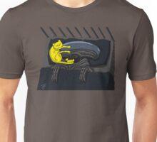 Alien's Cat (Specially Detailed) Unisex T-Shirt