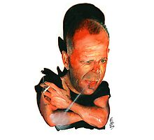 Bruce Willis Photographic Print