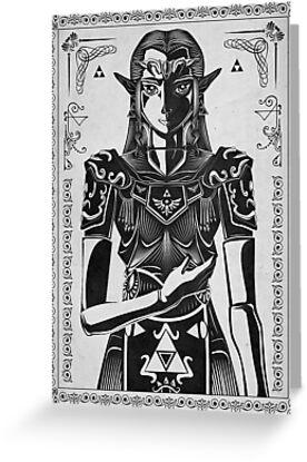 Legend of Zelda Princess Geek Art by barrettbiggers