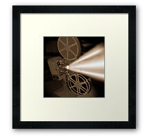 Movie Projector Framed Print