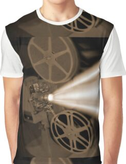 Movie Projector Graphic T-Shirt