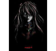 Asuka Evangelion Anime Tra Digital Painting  Photographic Print