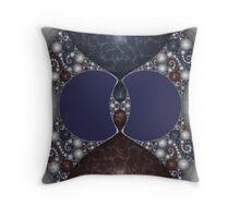 Kleinian Marble Inlay IV Throw Pillow