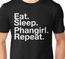 EAT SLEEP PHANGIRL REPEAT Unisex T-Shirt