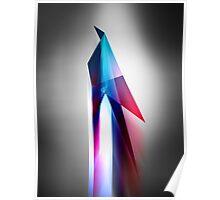 Origami Bird Vector Art Poster Poster