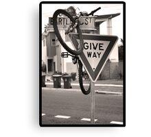 Stray Bike Canvas Print