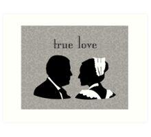 Anna and Bates true love Art Print