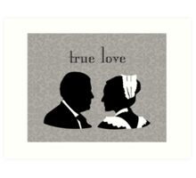 Anna and Bates true love Art Print