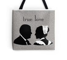 Anna and Bates true love Tote Bag