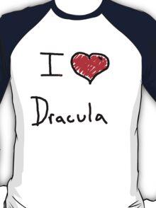 i love Halloween Dracula  T-Shirt
