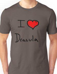 i love Halloween Dracula  Unisex T-Shirt